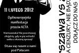 Warszawa i Europa przeciw ACTA!