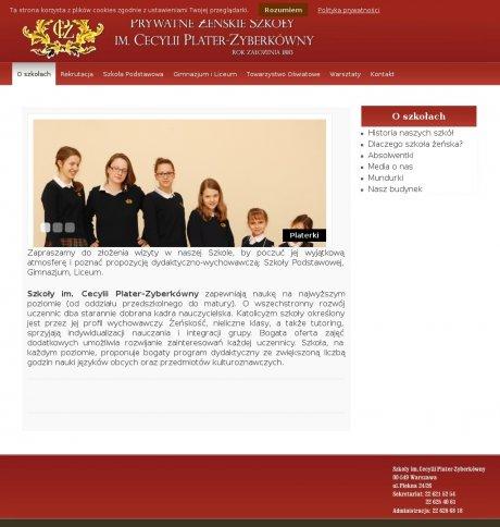 Prywatne Żeńskie Szkoły im. Cecylii Plater-Zyberkówny
