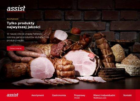 Assist. Art. masarskie, wyroby domowe, sklep masarski